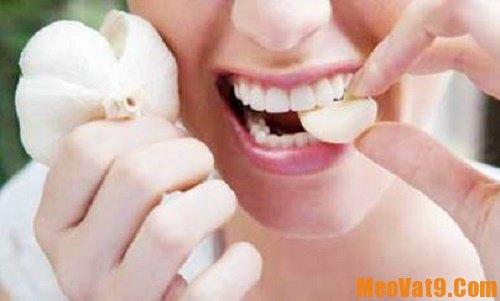 Cách khử mùi hôi sau khi ăn tỏi: Làm sao để khử mùi hôi của tỏi sau khi ăn