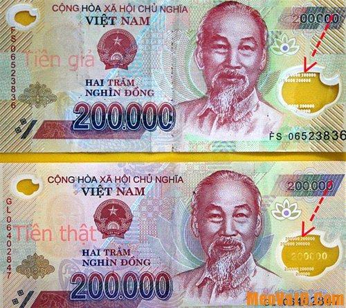 Hướng dẫn cách phân biệt tiền 200 nghìn giả, phân biệt tiền 200k thật và giả như thế nào?