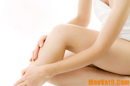 Cách tẩy lông chân hiệu quả