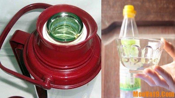 Mẹo và bí quyết tẩy sạch cặn bẩn trong ấm, phích nước