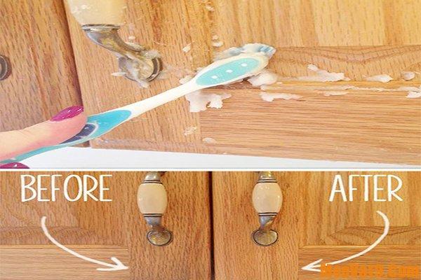 Cách đơn giản tẩy vết dầu mỡ