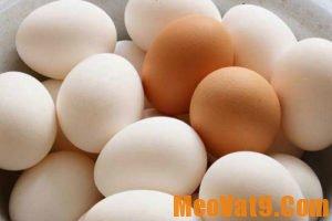 Cách luộc trứng gà lòng đào