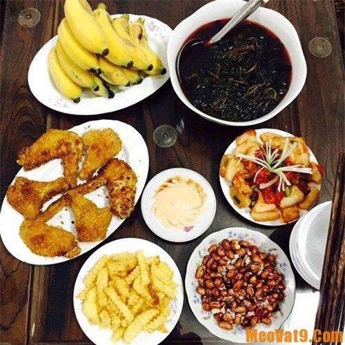 Thực đơn cho bữa ăn của gia đình, gợi ý các mâm cơm ngon cho gia đình
