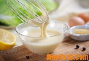 Làm đẹp với nước sốt mayonnaise
