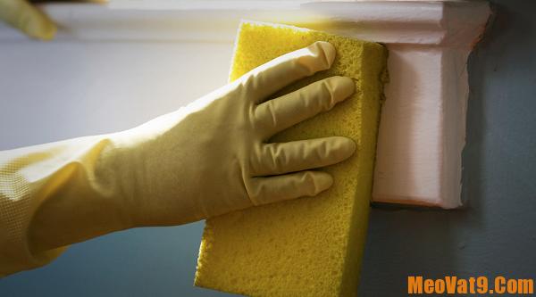 Hướng dẫn tẩy sạch mọi vết bẩn trên tường
