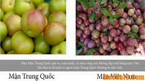 Chọn mận Việt Nam ngon và an toàn