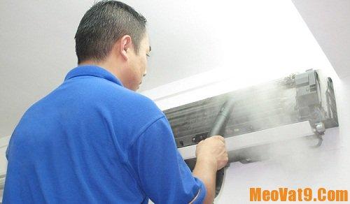 Vệ sinh máy điều hòa tại nhà, hướng dẫn làm sạch máy lạnh ngay tại nhà