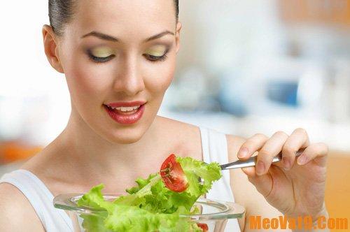 Cách giảm bắp chân bằng chế độ ăn uống