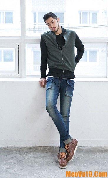 Cách mix đồ quần jean nam với áo pull, làm sao để mix quần jean nam trẻ trung, năng động và cuốn hút nhất
