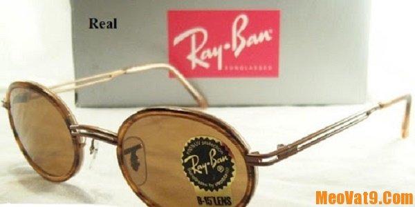 Cách phân biệt kính Rayban thật và giả, làm sao để nhận biết kính Rayban thật giả