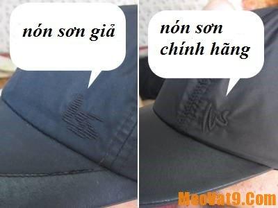 Cách phân biệt nón sơn chính hãng, làm sao để phân biệt nón sơn thật giả