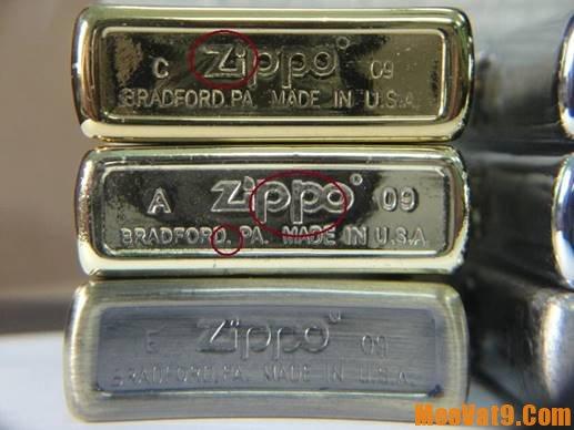 Bí kịp và cách phân biệt zippo thật giả, nhận biết zippo thật giả như thế nào?