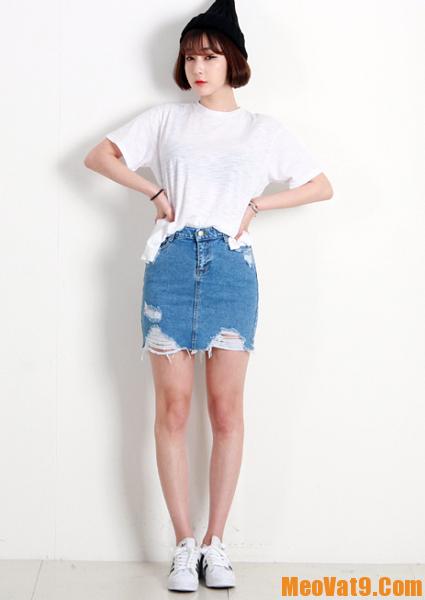 Bí quyết phối đồ với chân váy trẻ trung, năng động cho bạn gái