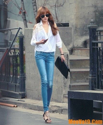 Hướng dẫn phối đồ với jean nữ, bí quyết chọn quần áo mặc kết hợp với quần jean dành cho bạn gái