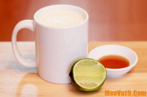 Mẹo tắm trắng bằng sữa tươi không đường với chanh và mật ong, làm sao để tắm trắng với sữa tươi không đường