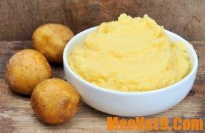 Cách thu nhỏ lỗ chân lông ở chân bằng khoai tây