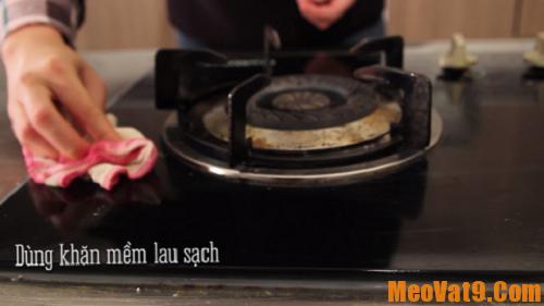 Mẹo làm sạch bếp ga nhanh nhất, làm sao để đánh bay dầu mỡ ở bếp ga?