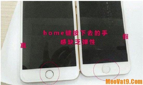 Mẹo phân biệt iphone 6s thật và giả cực chính xác, iphone 6s thật giả khác nhau chỗ nào?