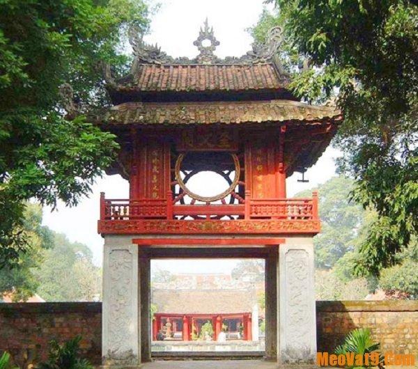 Địa điểm tham quan ở Hà Nội. Văn Miếu - Quốc Tử Giám