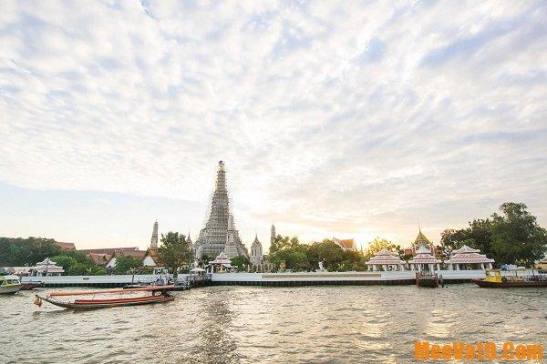 Lịch trình du lịch Bangkok 1 ngày: Trải nghiệm du thuyền sông Chao Phraya