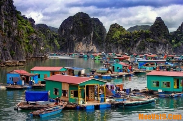 Những địa điểm du lịch ở Hạ Long. Làng chài Vung Viêng. Địa điểm tham quan nổi tiếng ở Hạ Long