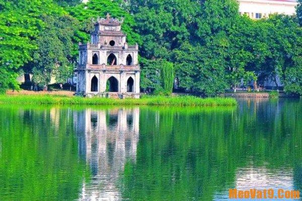 Địa điểm tham quan ở Hà Nội. Hồ Gươm