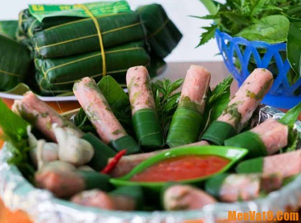 Những món đặc sản ở Sầm Sơn Thanh Hóa. Nem chua Thanh Hóa. Món ăn ngon ở Sầm Sơn