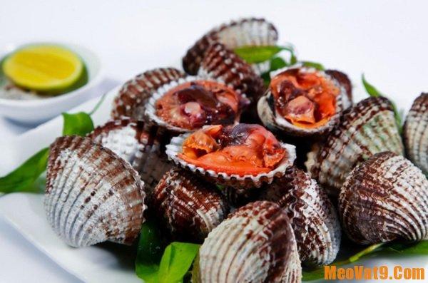 Những món đặc sản ở Sầm Sơn Thanh Hóa. Sò Huyết. Món ăn hấp dẫn ở Sầm Sơn